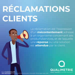 Reclamations clients Qualimetrie